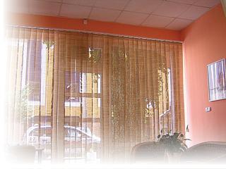 szalagfüggöny szobánkba