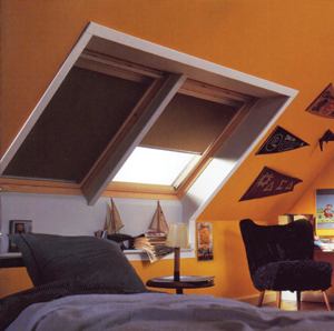 Redőny tetőtérbe