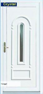 Műanyag bejárati ajtó -50% Akció
