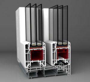 Aluplast HST 85Emelő – Toló Műanyag erkélyajtó