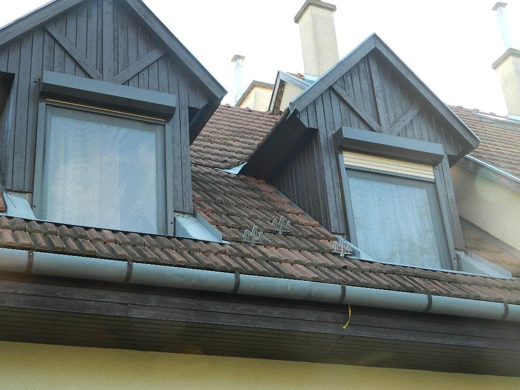 Padlástér ablakok cseréje