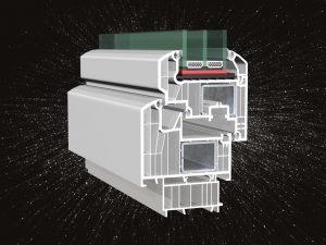 Horizont Ps Space 8 műanyag ablak profil -50% AKCIÓ