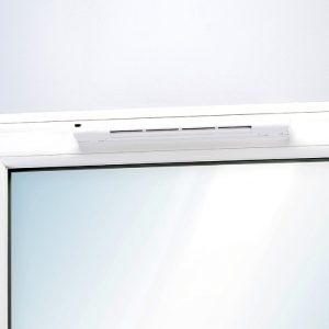 Műanyag ablak légbevezető Légbevezető utólagos beépítése nyílászáróba, párásodás, penészesedés miatt