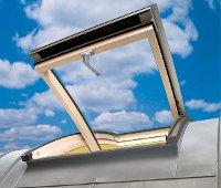 Íves tetőablakok Egyedi tetőablakok