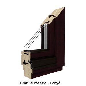 Borovi fenyő Fa ablak- RAL színskála