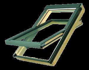 Középen billenő tetőablakok