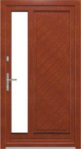 Fa bejárati ajtó - A kiváló minőségű és természetes szépség tökéletes kombinációja