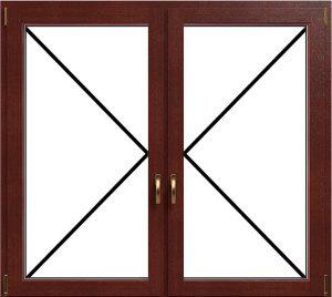 Műanyag és Fa ablak nyitásirányok: Nyíló-Nyíló