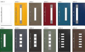 Mit kell tudni egy Alumínium ajtóról? Modern Alumínium ajtó modellek: