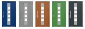 MB-70 Alumínium ajtó Profil:Három kamrájú szerkezettel rendelkezik, 70 mm-es szerkezeti mélységgel.