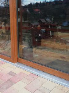 Nagyméretű teraszra és erkélyes üvegezésre - Emelő – Tolóajtó