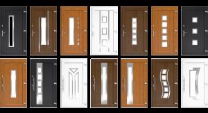 Modern műanyag bejárati ajtópanel minták megtekintése!