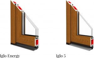 ModernMűanyag bejárati ajtók
