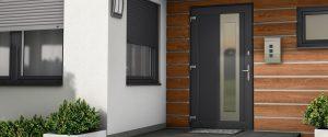 Műanyag bejárati ajtó Iglo Energy