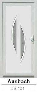 Akciós bejárati ajtók. Műanyag bejárati ajtók díszpanel - Ausbach