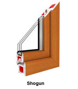 Műanyag ablak profil - 7 kamrás kivitelben