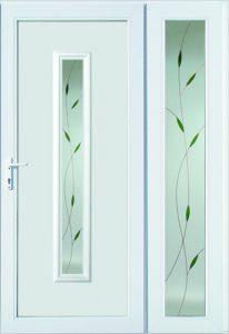 Műanyag kétszárnyú bejárati ajtók - Ulm