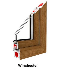 Hét kamrás műanyag ablak háromrétegű üveggel
