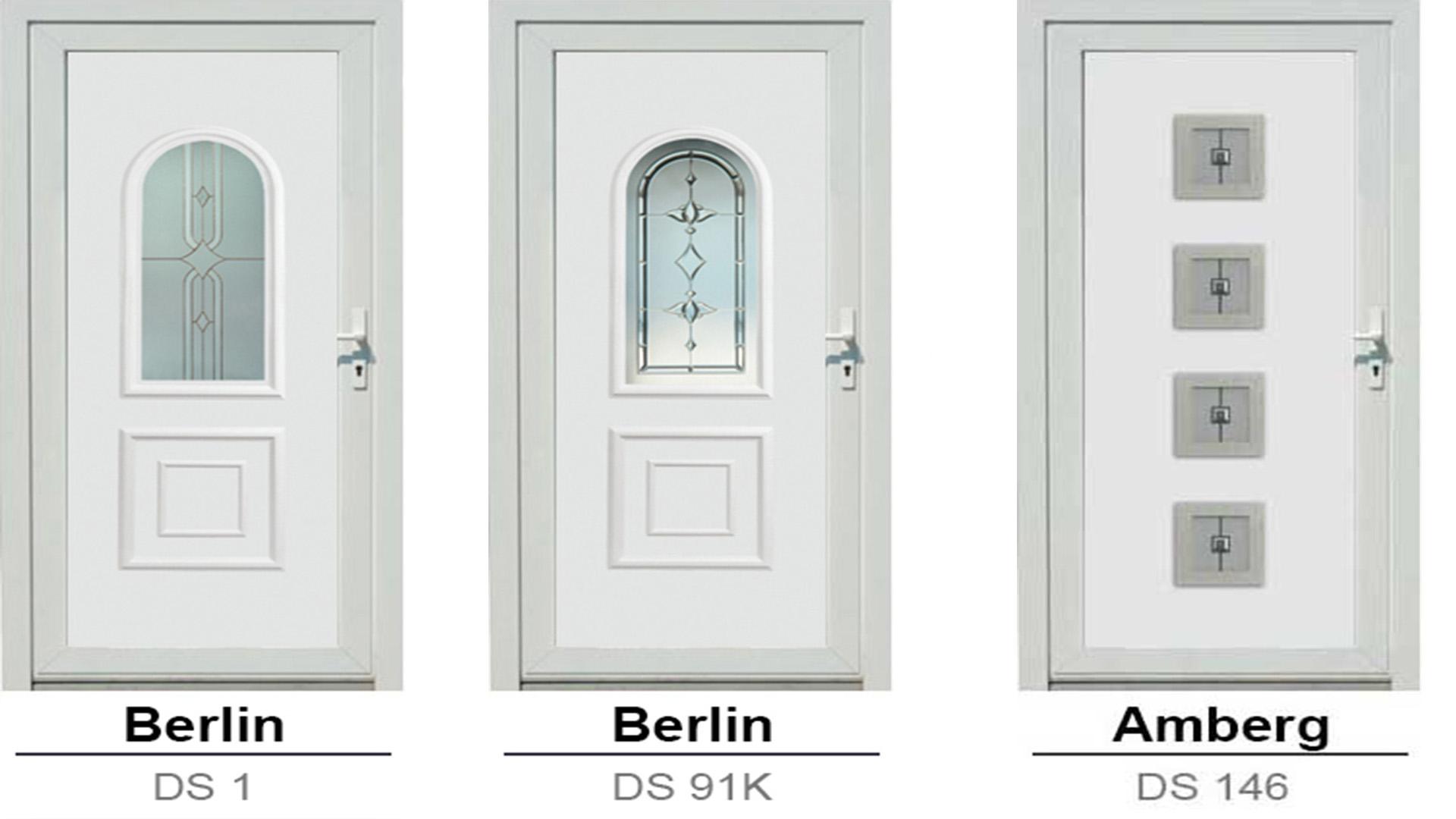 S-Line bejárati ajtóbetétek és díszüvegek